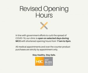 Revised Opening Hours 1